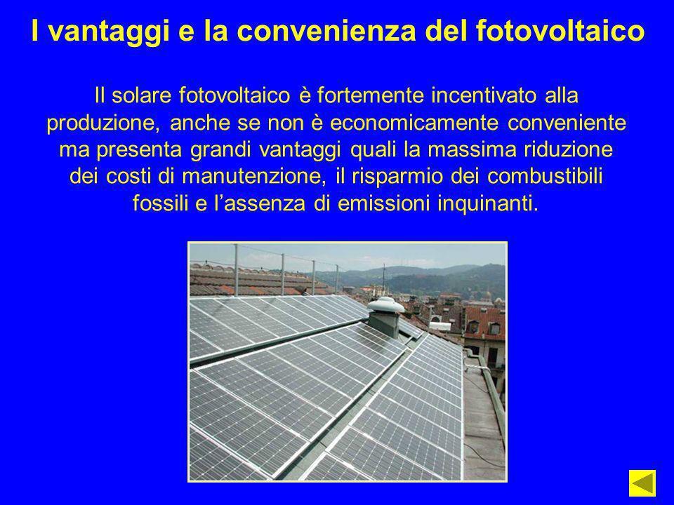 I vantaggi e la convenienza del fotovoltaico