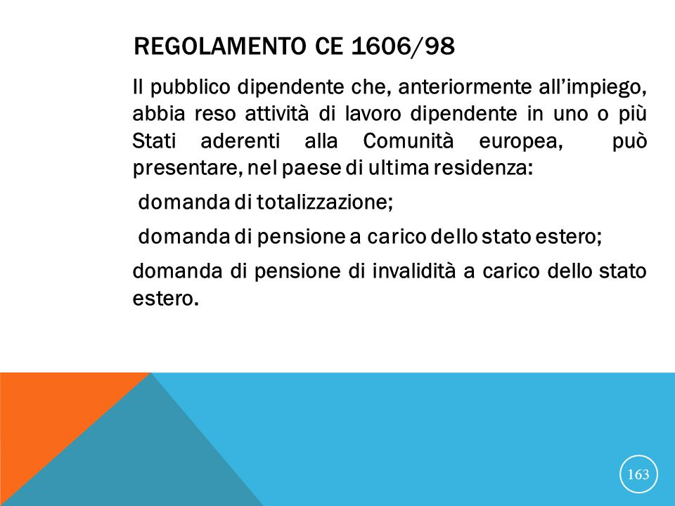 Regolamento CE 1606/98