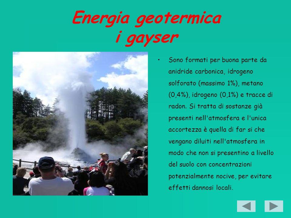 Energia geotermica i gayser