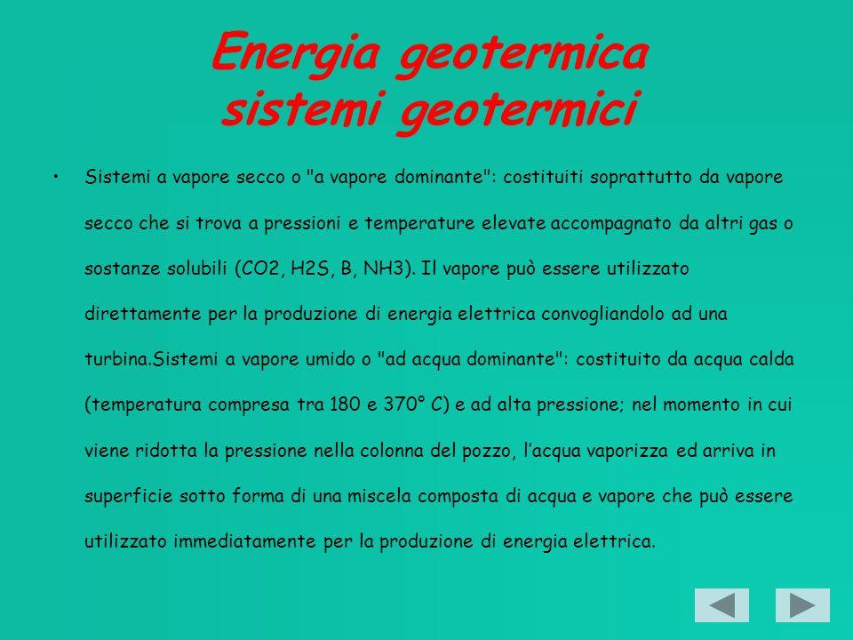 Energia geotermica sistemi geotermici