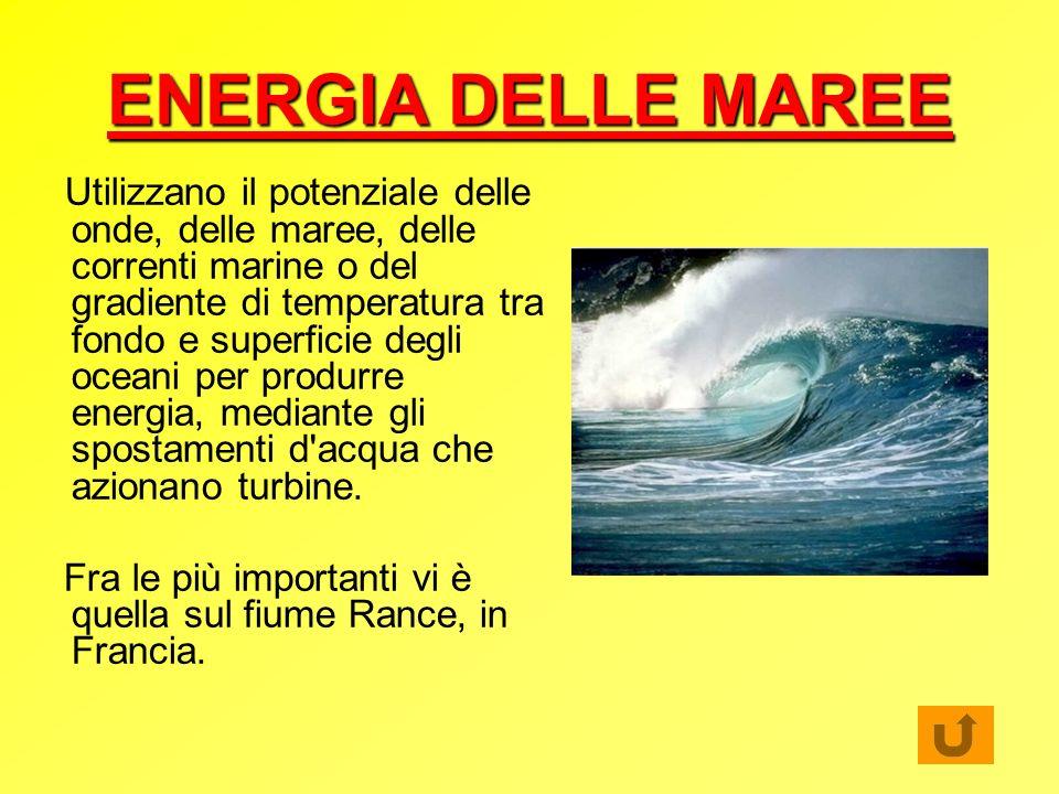 ENERGIA DELLE MAREE