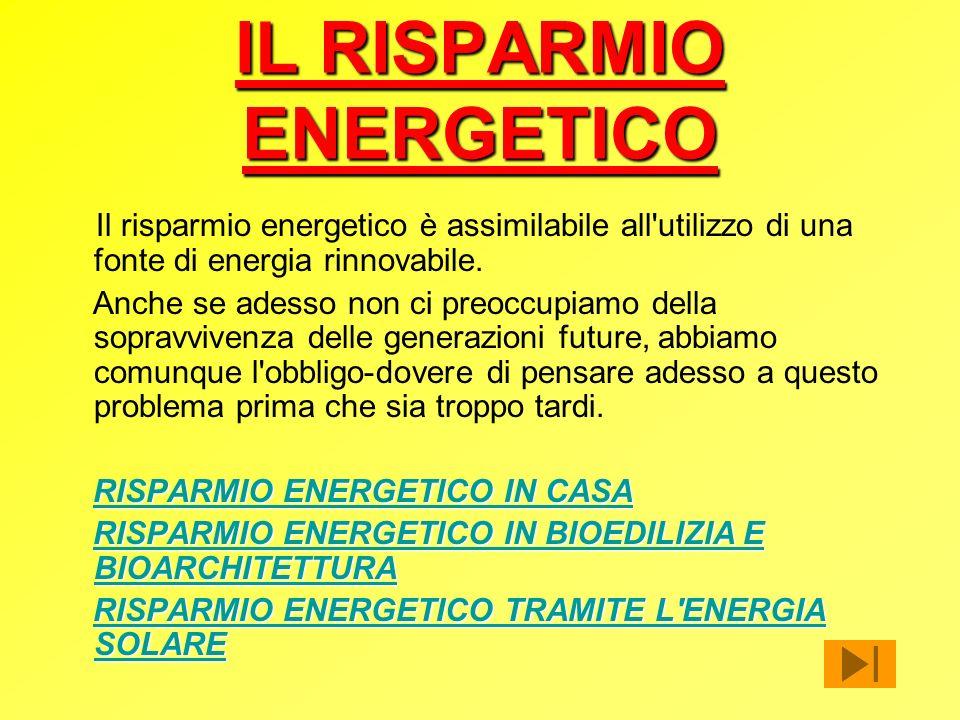 Fonti rinnovabili energia eolica energia idroelettrica - Risparmio energetico casa ...