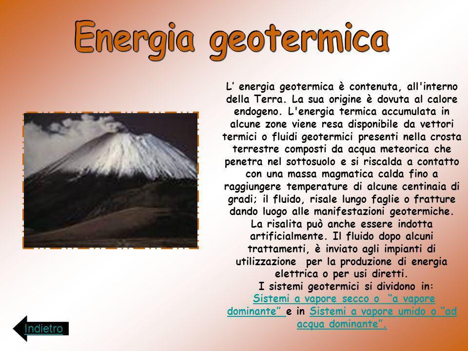 I sistemi geotermici si dividono in:
