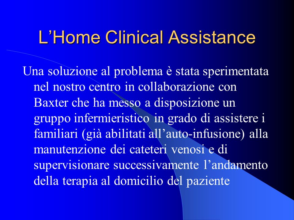 L'Home Clinical Assistance