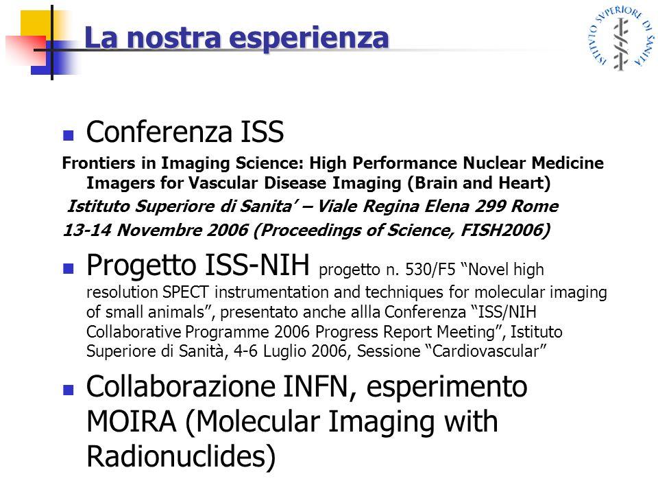 La nostra esperienza Conferenza ISS