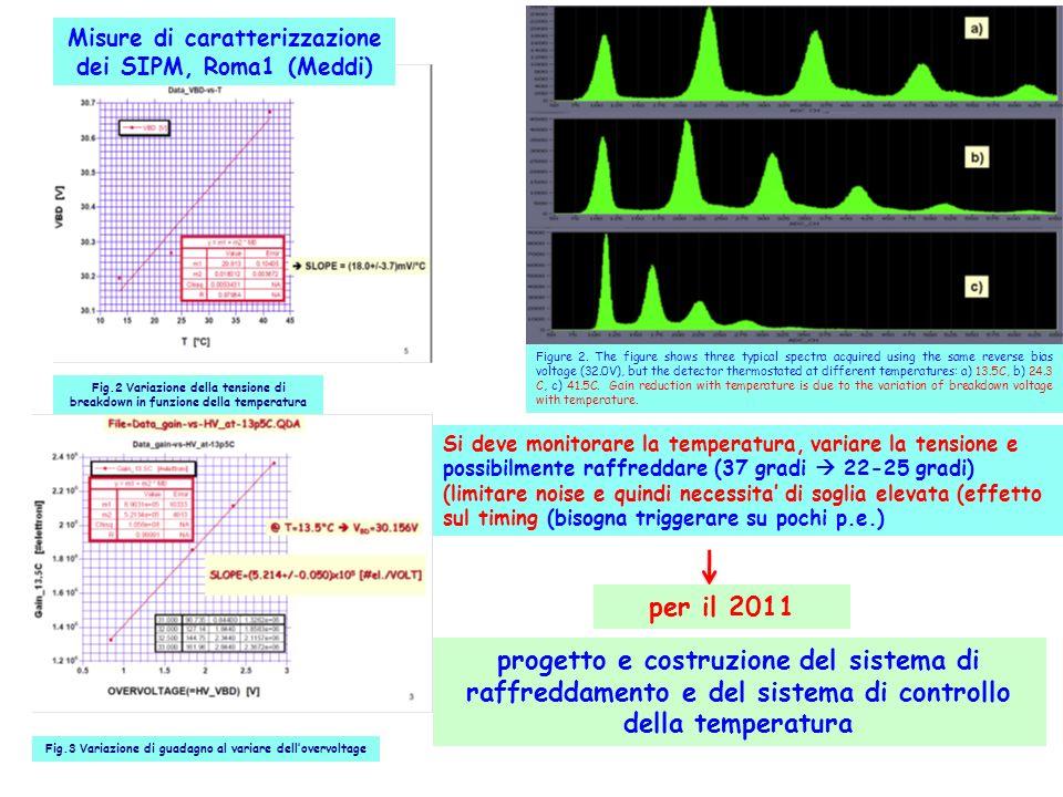 Misure di caratterizzazione dei SIPM, Roma1 (Meddi)