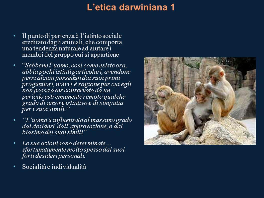 L'etica darwiniana 1