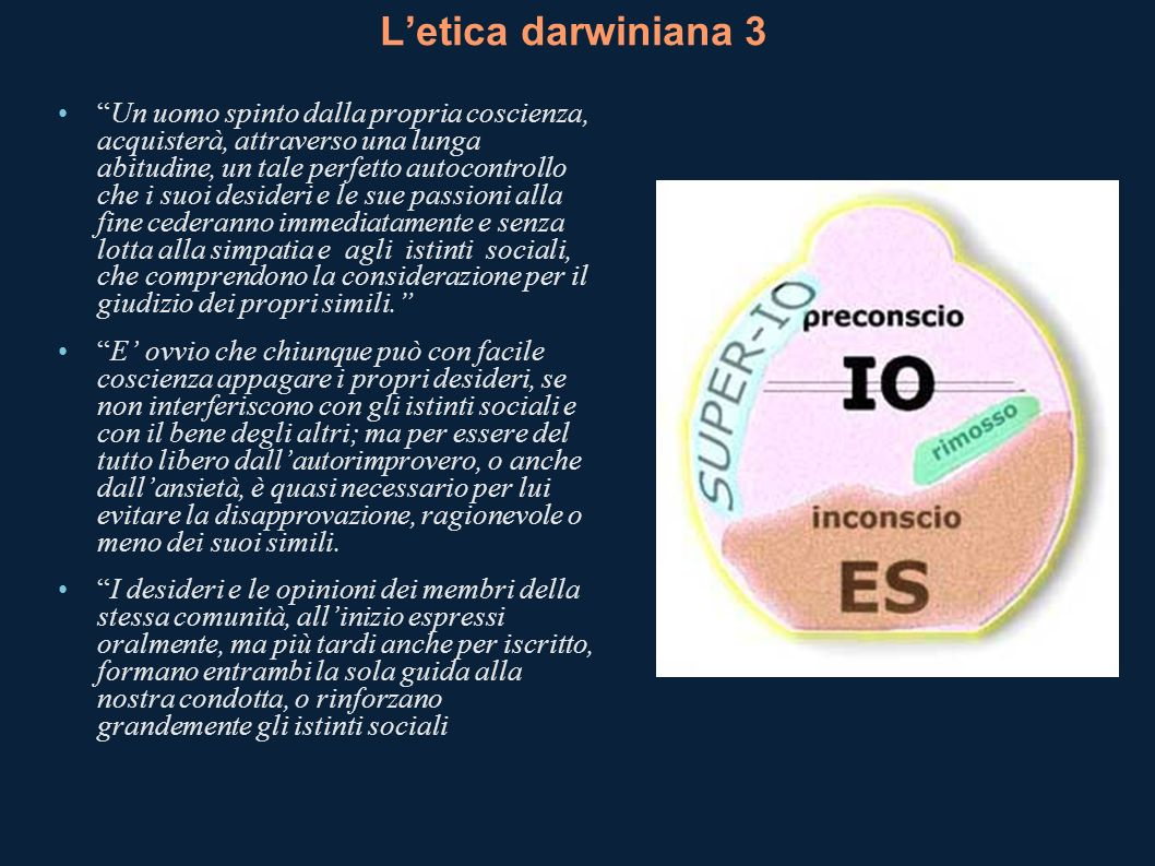 L'etica darwiniana 3