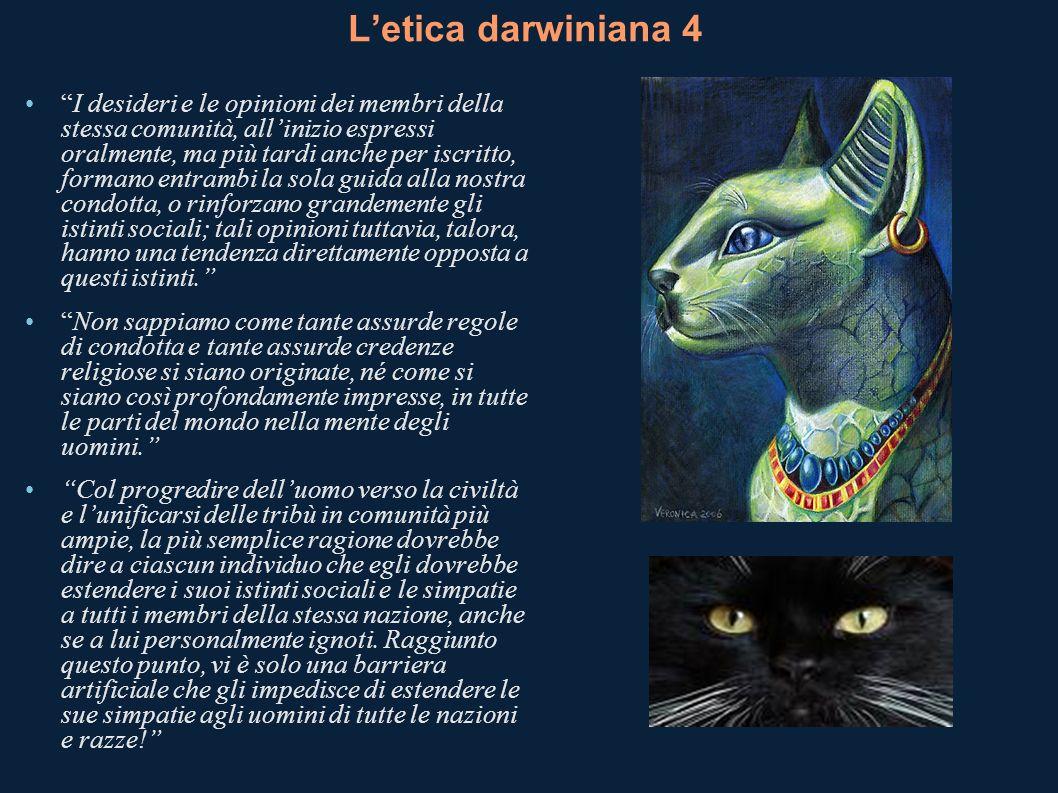 L'etica darwiniana 4