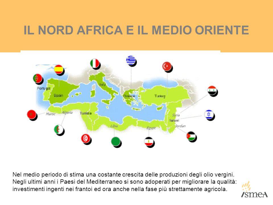 IL NORD AFRICA E IL MEDIO ORIENTE