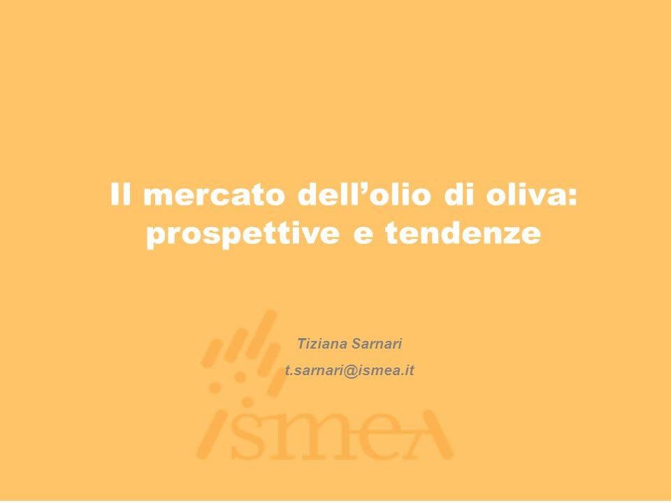 Il mercato dell'olio di oliva: prospettive e tendenze