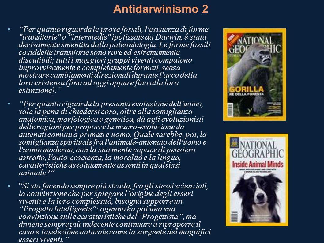 Antidarwinismo 2
