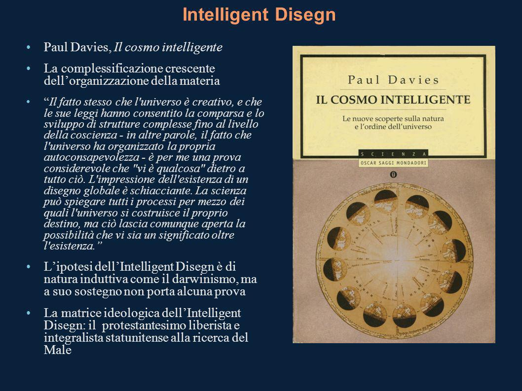 Intelligent Disegn Paul Davies, Il cosmo intelligente