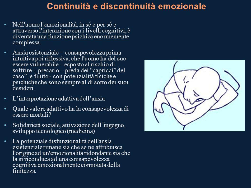 Continuità e discontinuità emozionale
