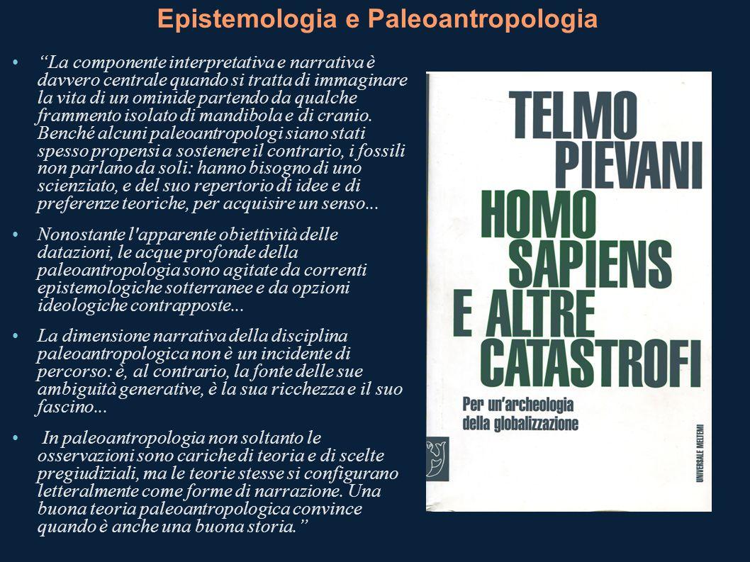 Epistemologia e Paleoantropologia