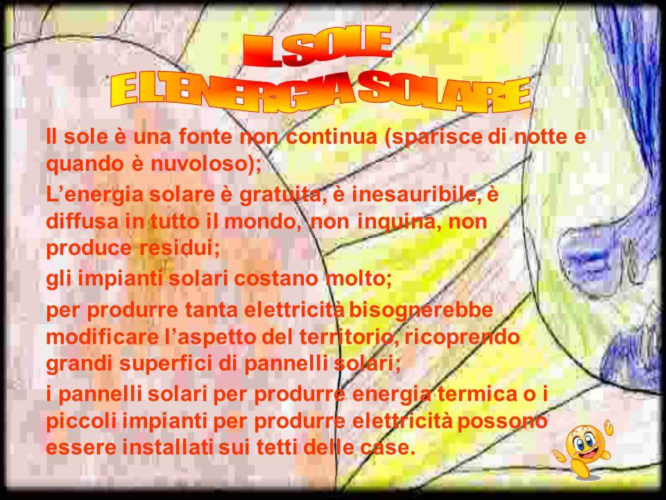 IL SOLE E L ENERGIA SOLARE