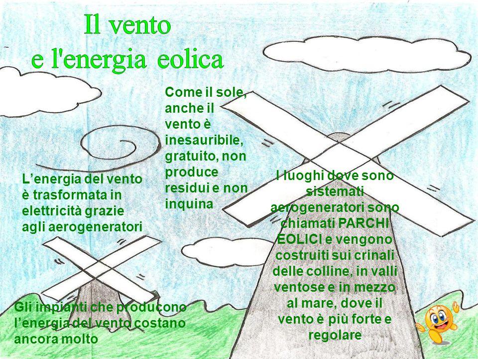 Il vento e l energia eolica