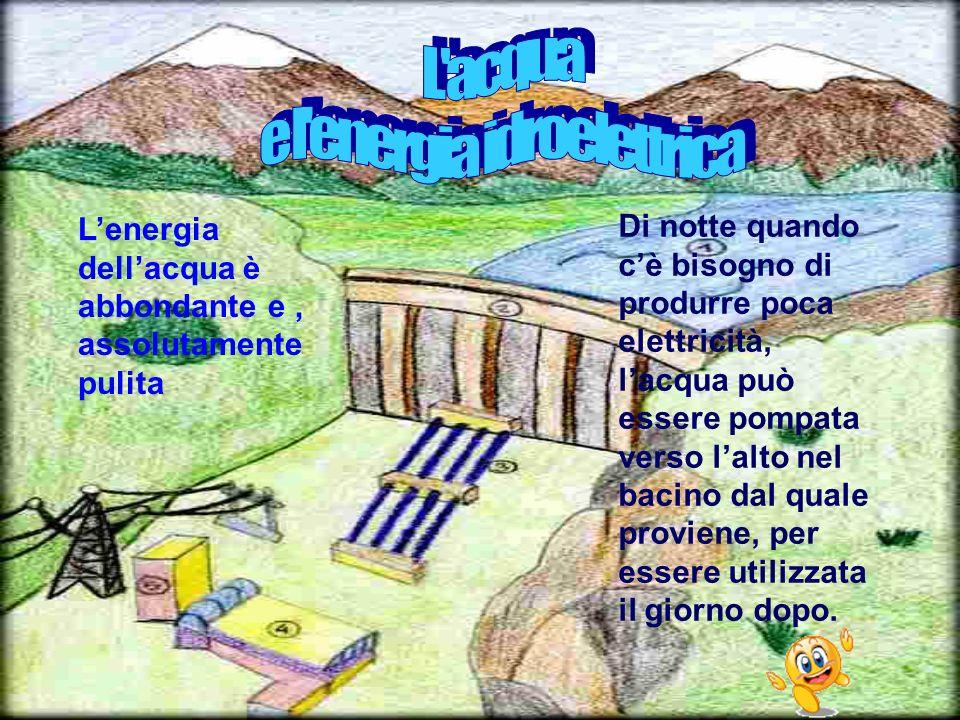 e l energia idroelettrica