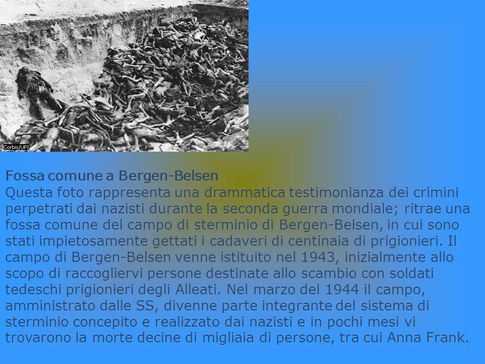 Fossa comune a Bergen-Belsen