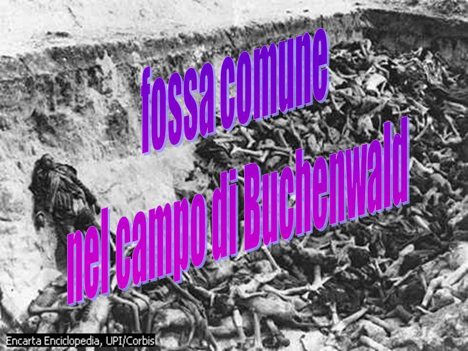 nel campo di Buchenwald