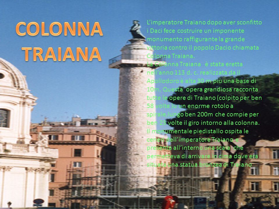 COLONNA TRAIANA.