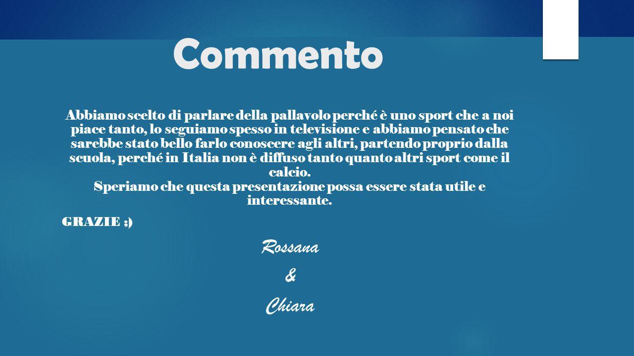 Commento Rossana & Chiara