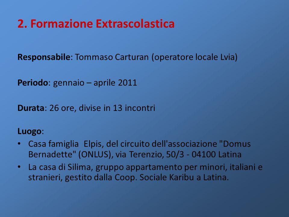 2. Formazione Extrascolastica