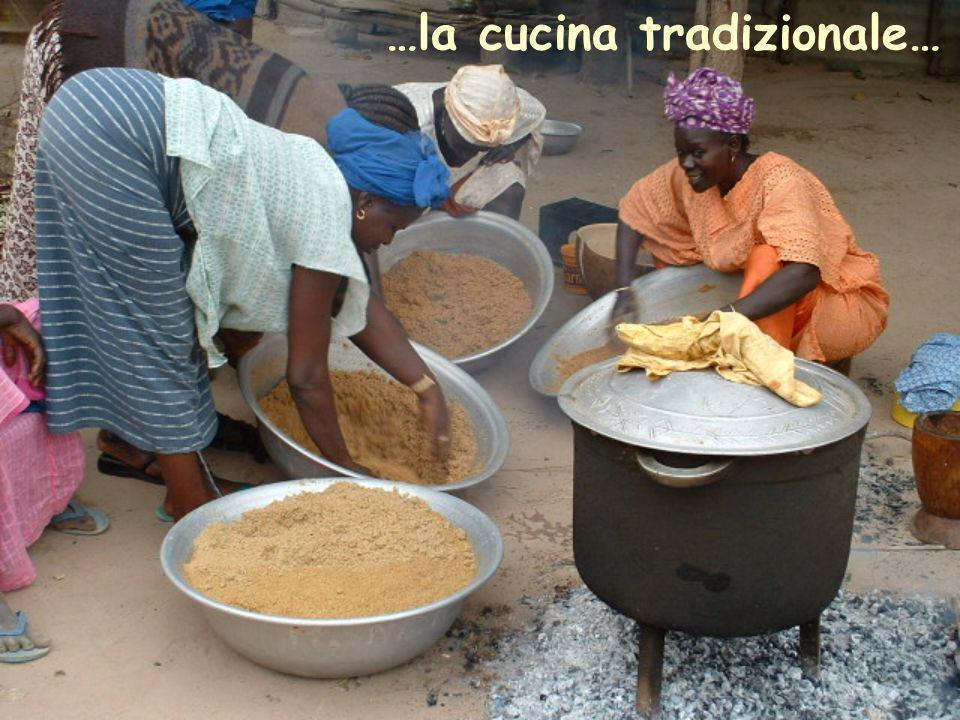 …la cucina tradizionale…