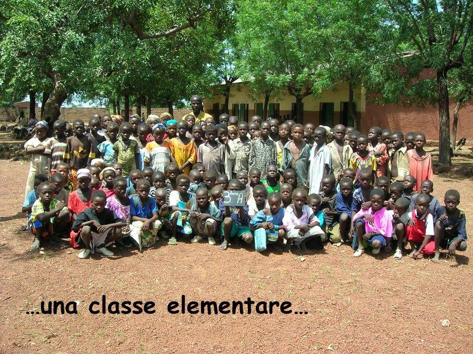 …una classe elementare…