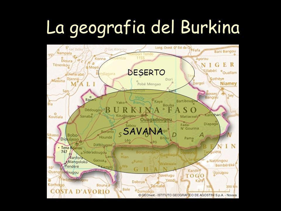 La geografia del Burkina