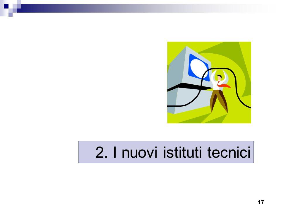 2. I nuovi istituti tecnici