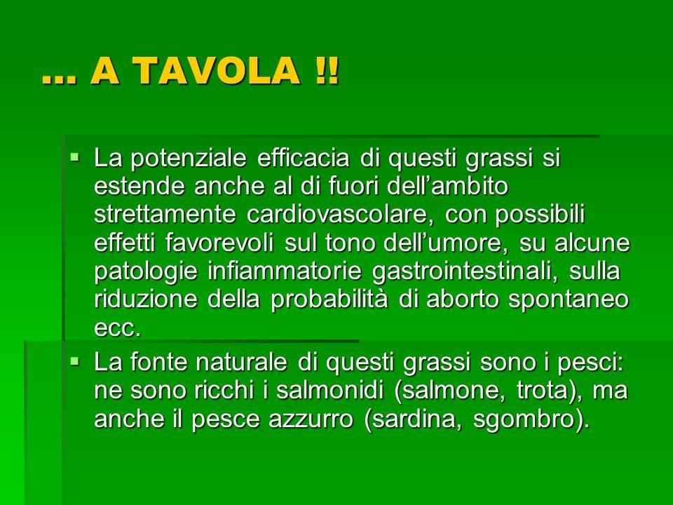 … A TAVOLA !!