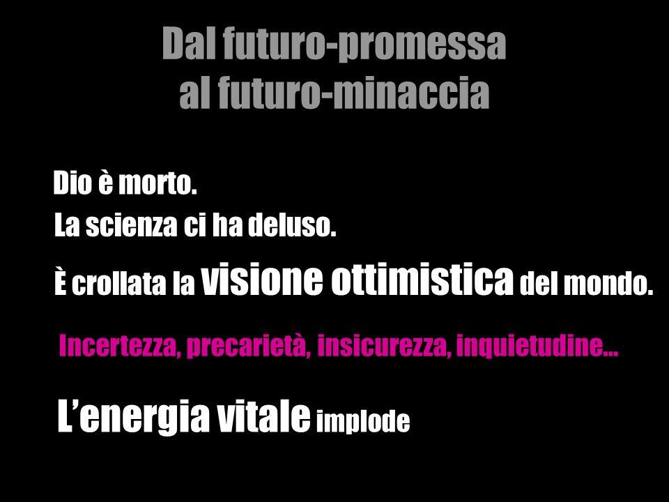 Dal futuro-promessa al futuro-minaccia