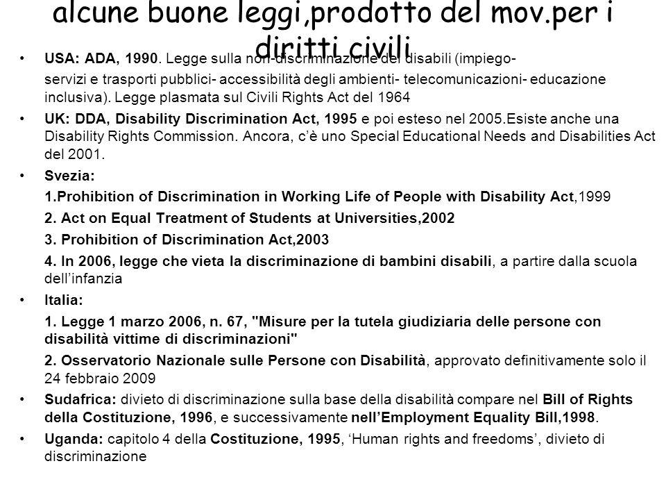 alcune buone leggi,prodotto del mov.per i diritti civili