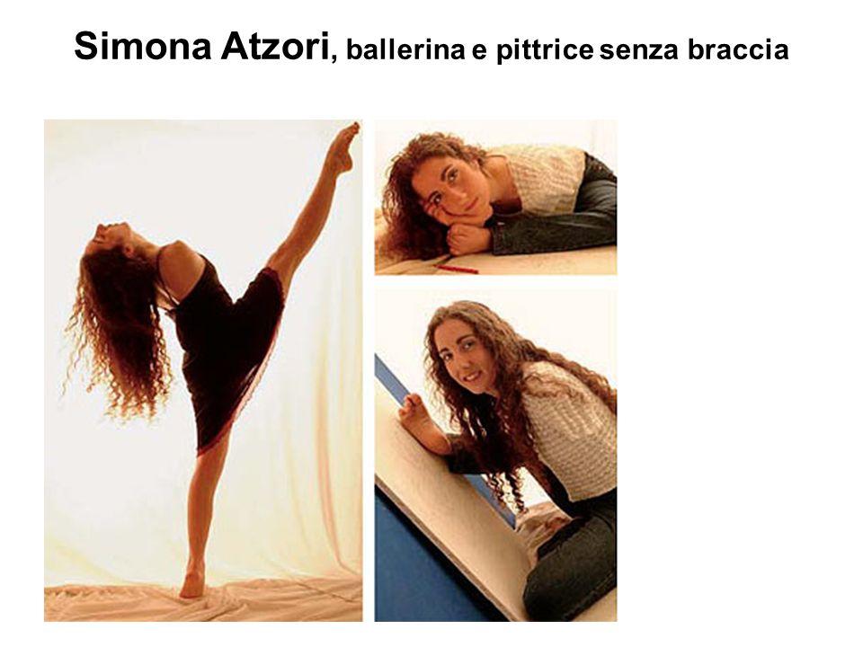 Simona Atzori, ballerina e pittrice senza braccia