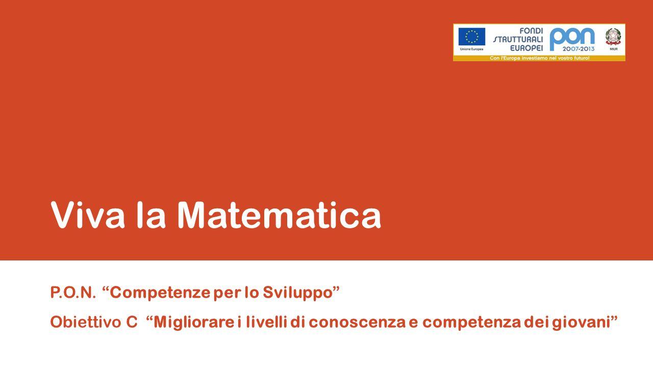 Viva la MatematicaP.O.N.