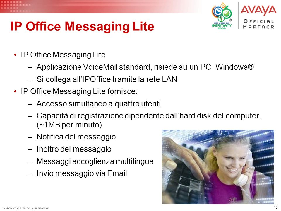 IP Office Messaging Lite