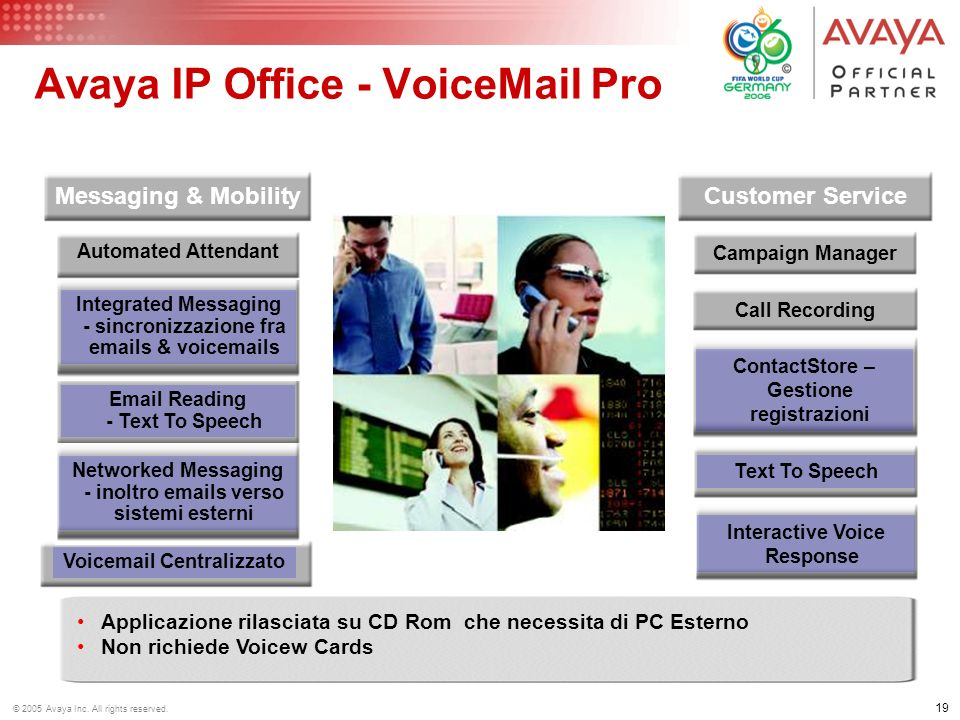 Avaya IP Office - Voic Pro