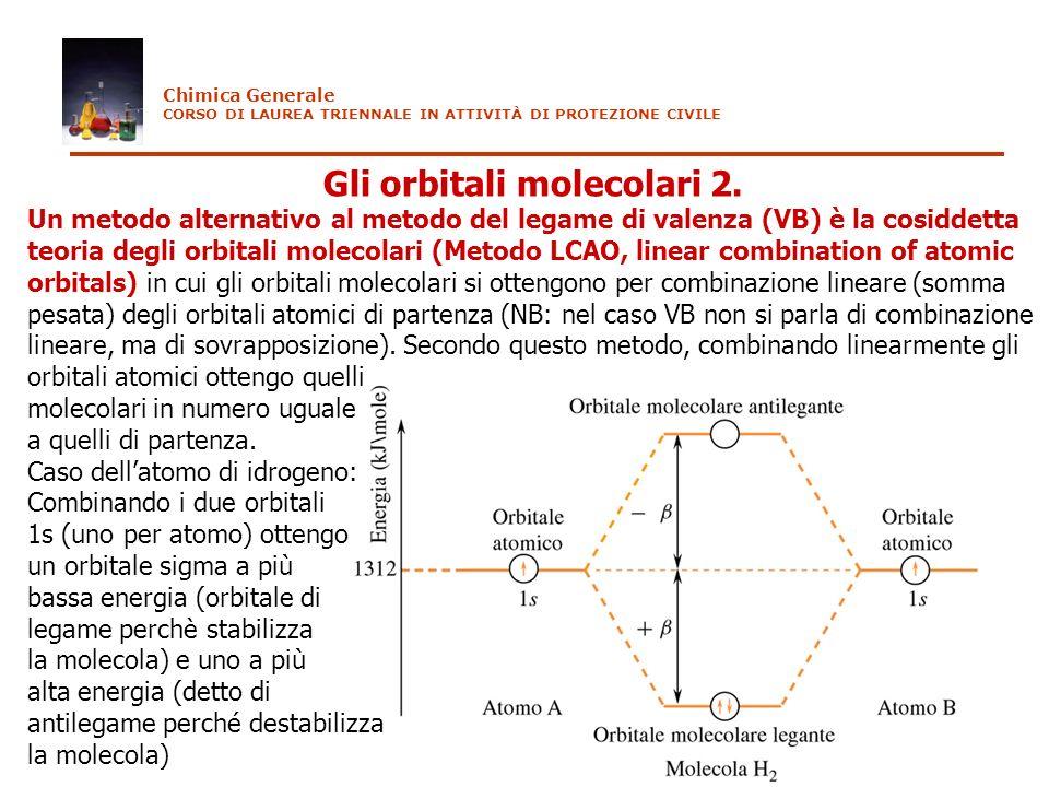 Gli orbitali molecolari 2.
