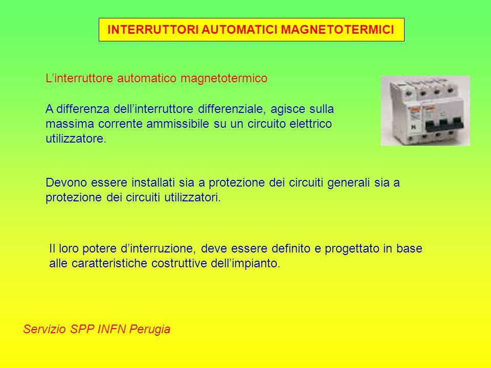INTERRUTTORI AUTOMATICI MAGNETOTERMICI
