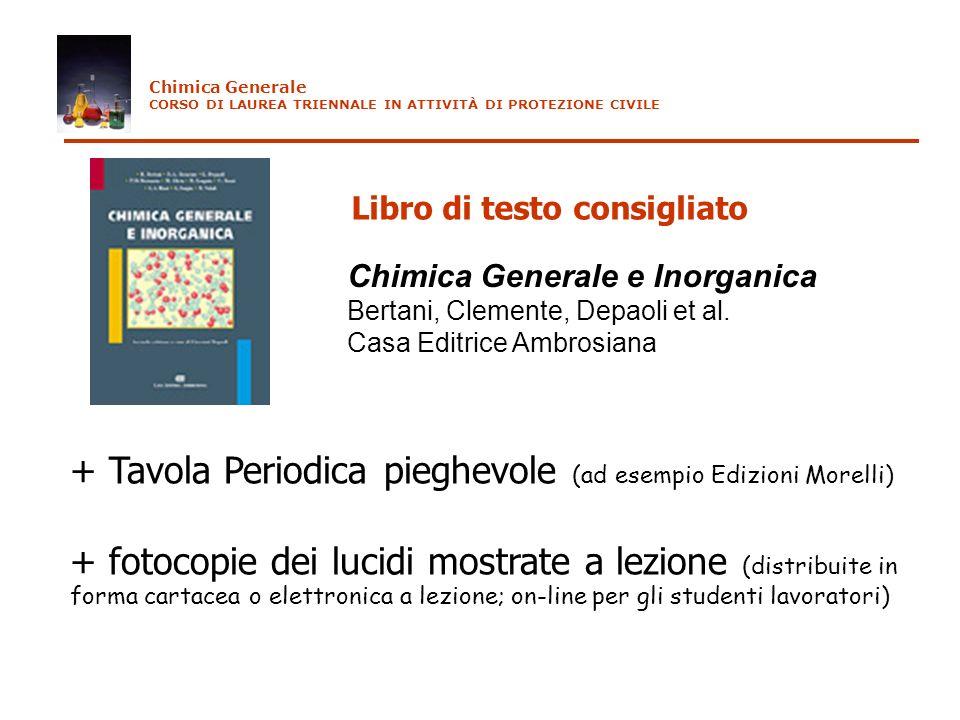 edizioni morelli chimica generale corso di laurea triennale in attivit di