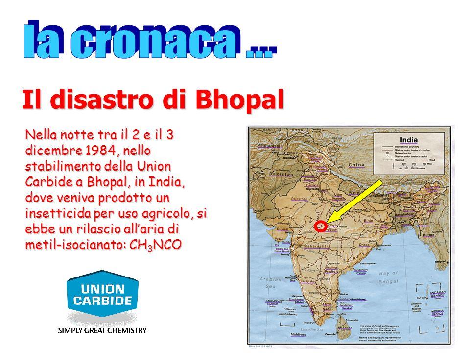 Il disastro di Bhopal la cronaca ...