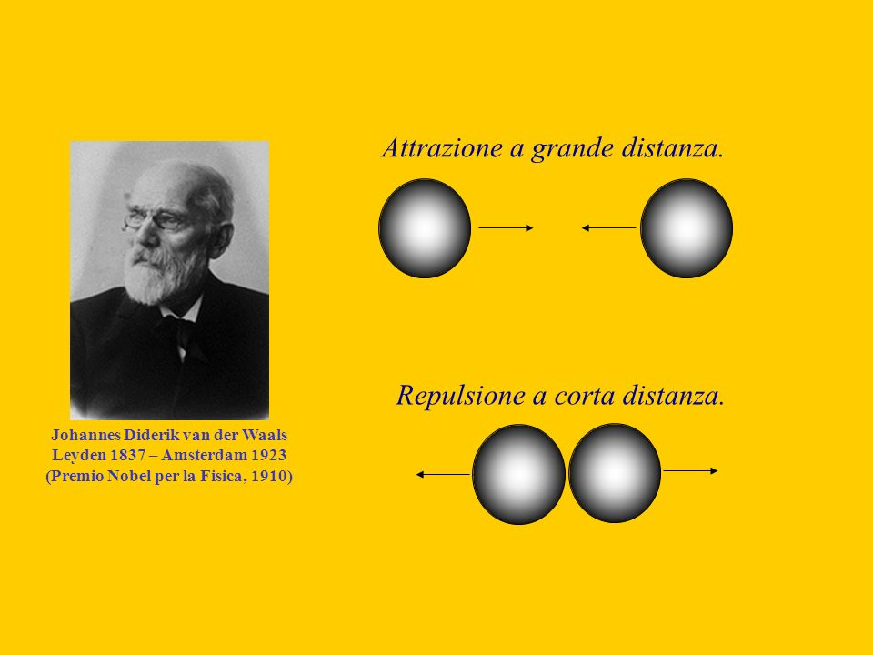 Johannes Diderik van der Waals (Premio Nobel per la Fisica, 1910)