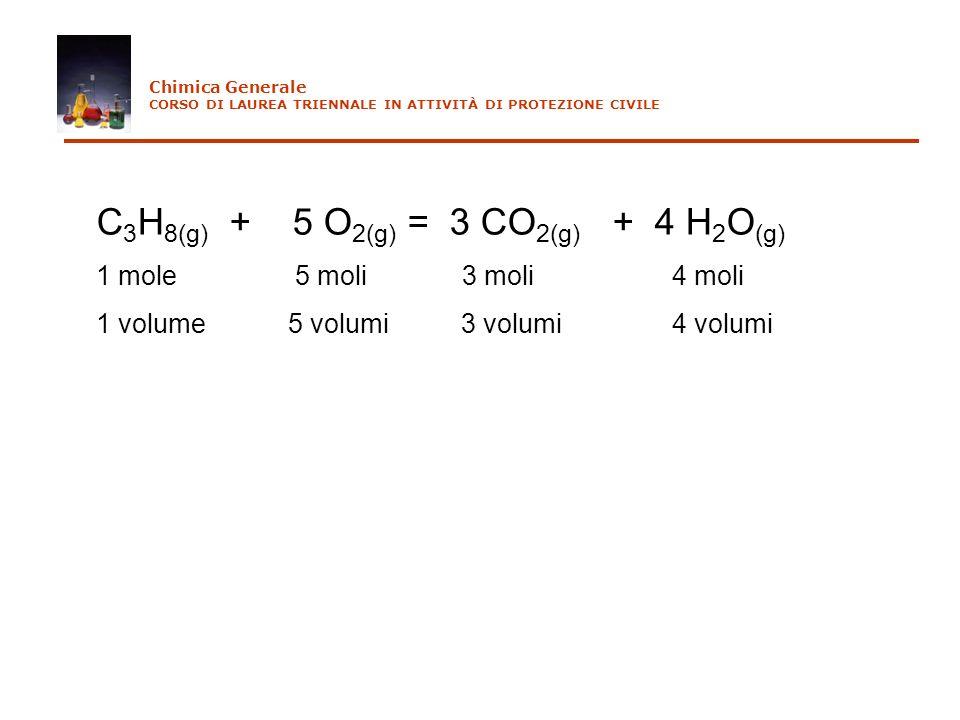 C3H8(g) + 5 O2(g) = 3 CO2(g) + 4 H2O(g)