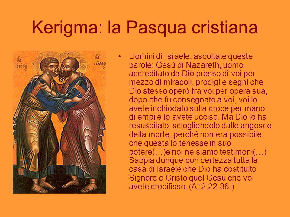 Kerigma: la Pasqua cristiana
