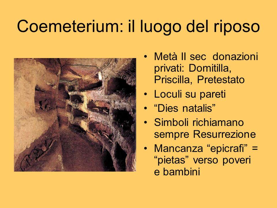 Coemeterium: il luogo del riposo