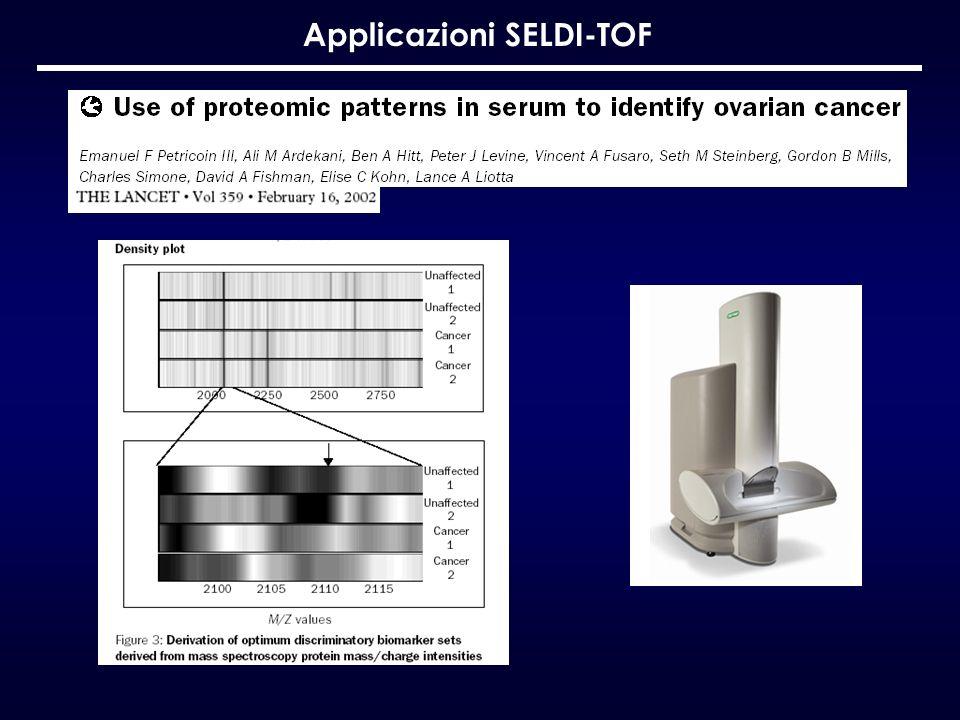 Applicazioni SELDI-TOF