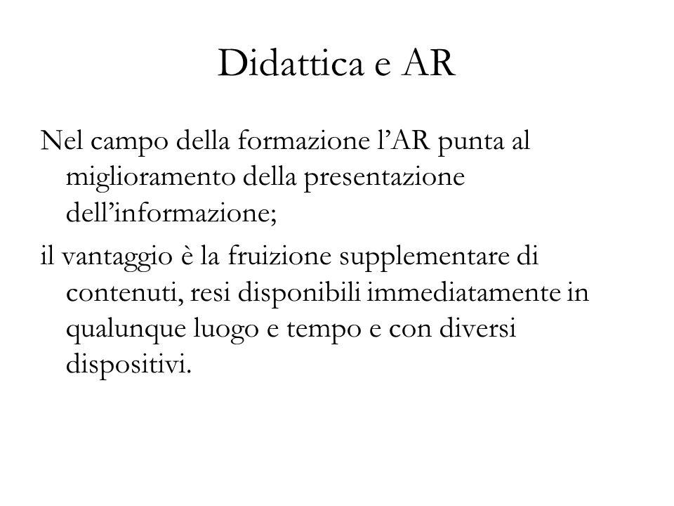Didattica e AR