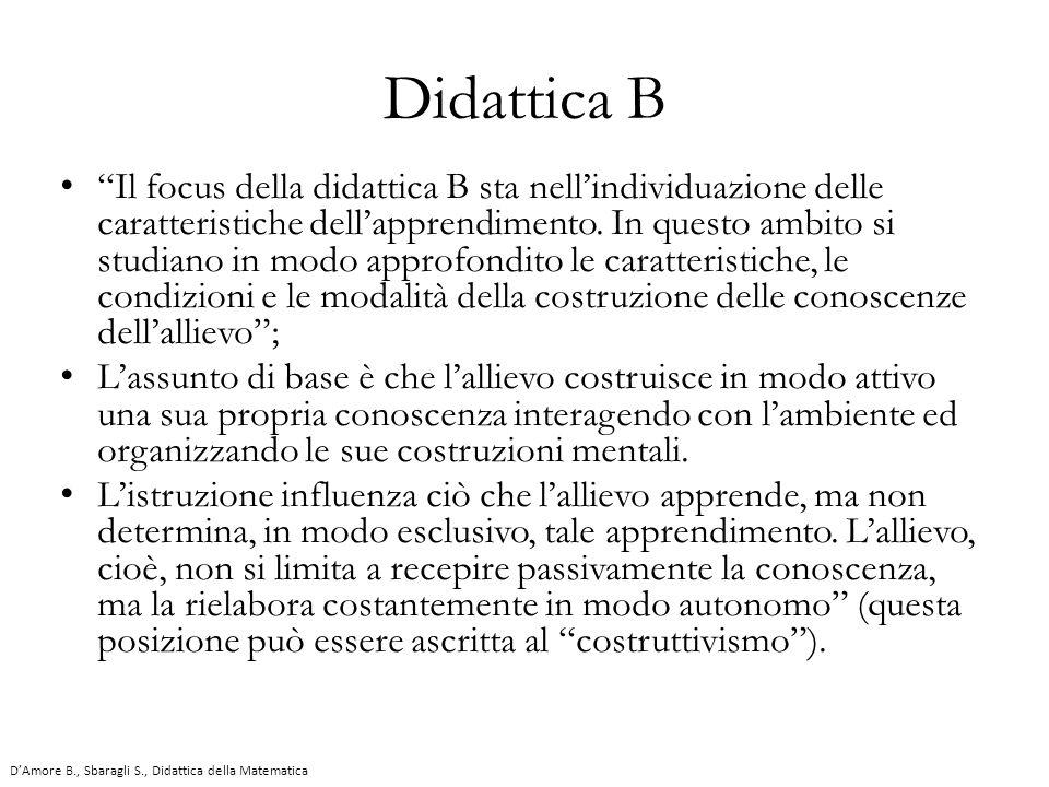 Didattica B