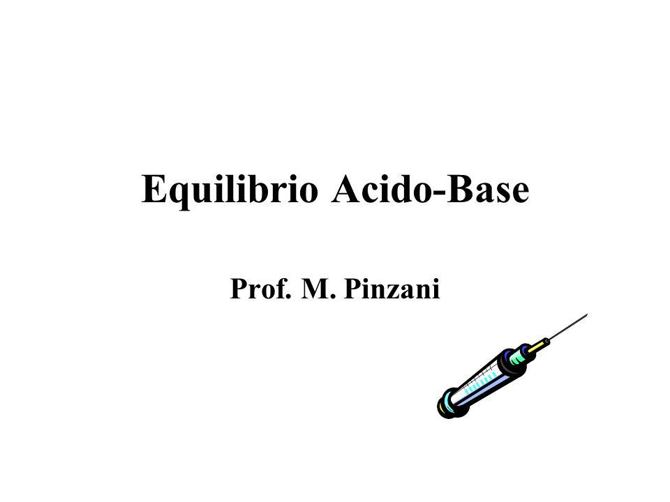 Equilibrio Acido-Base